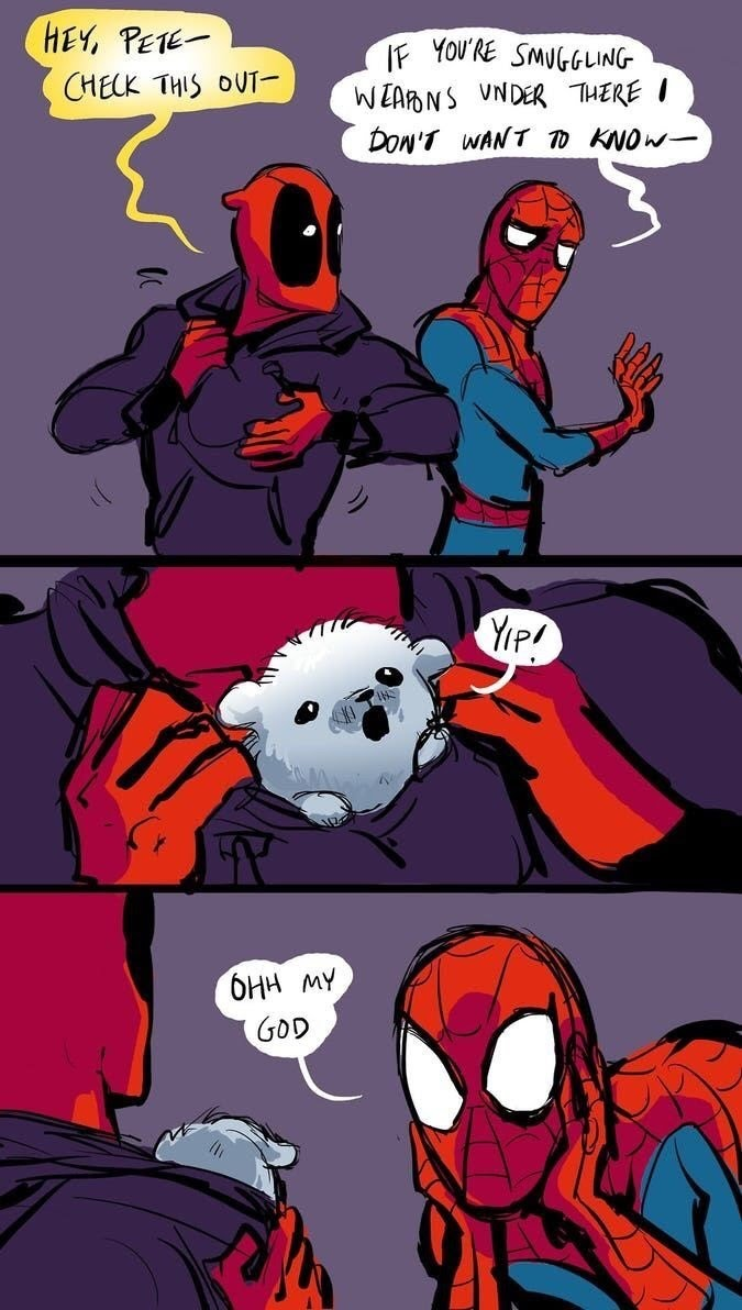 Wholesome Deadpool