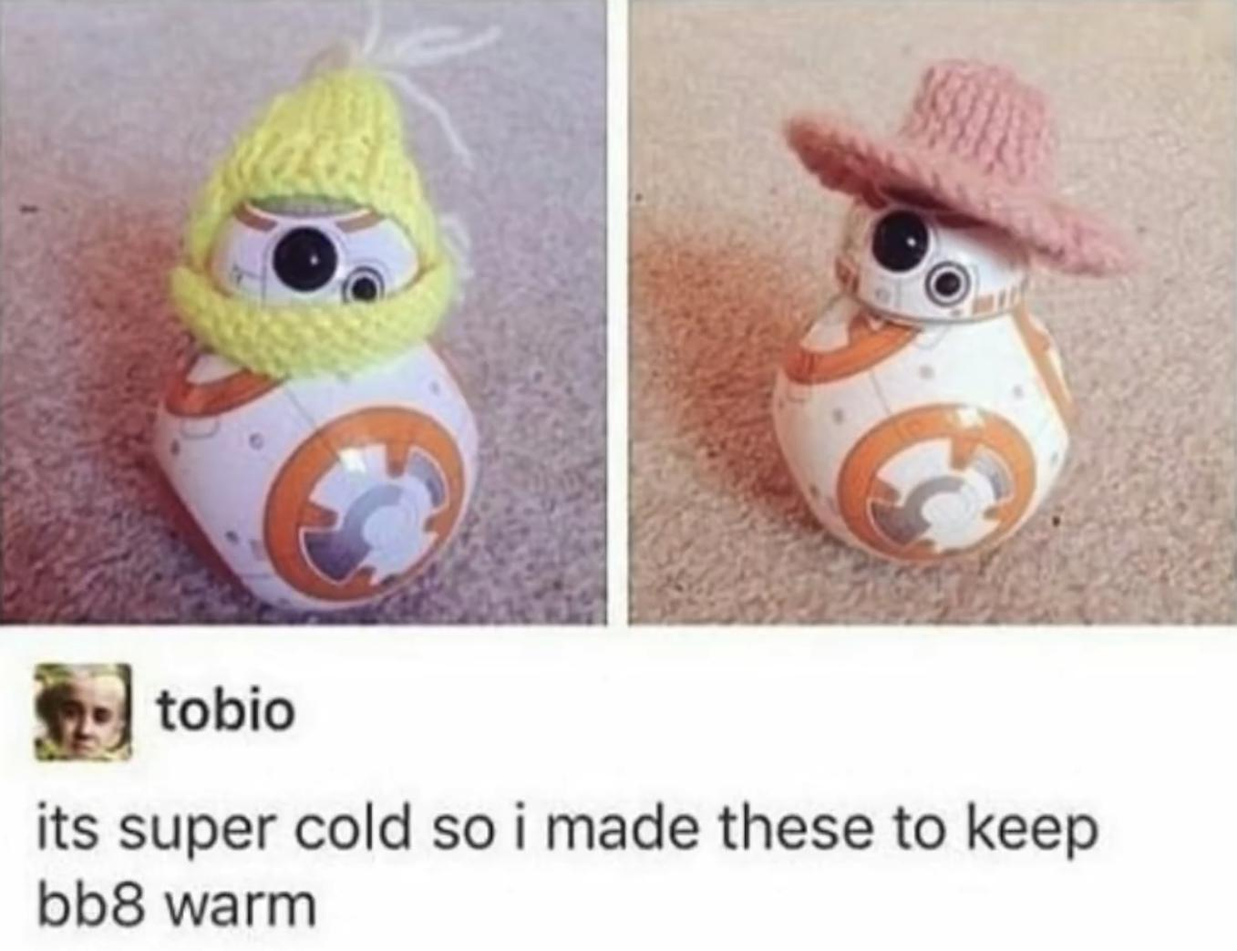 bb8 looks adorable