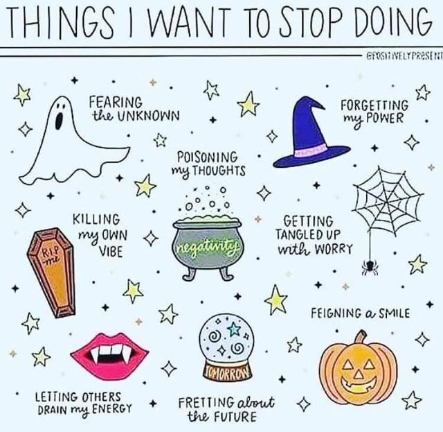 Have some Halloween-themed positivity