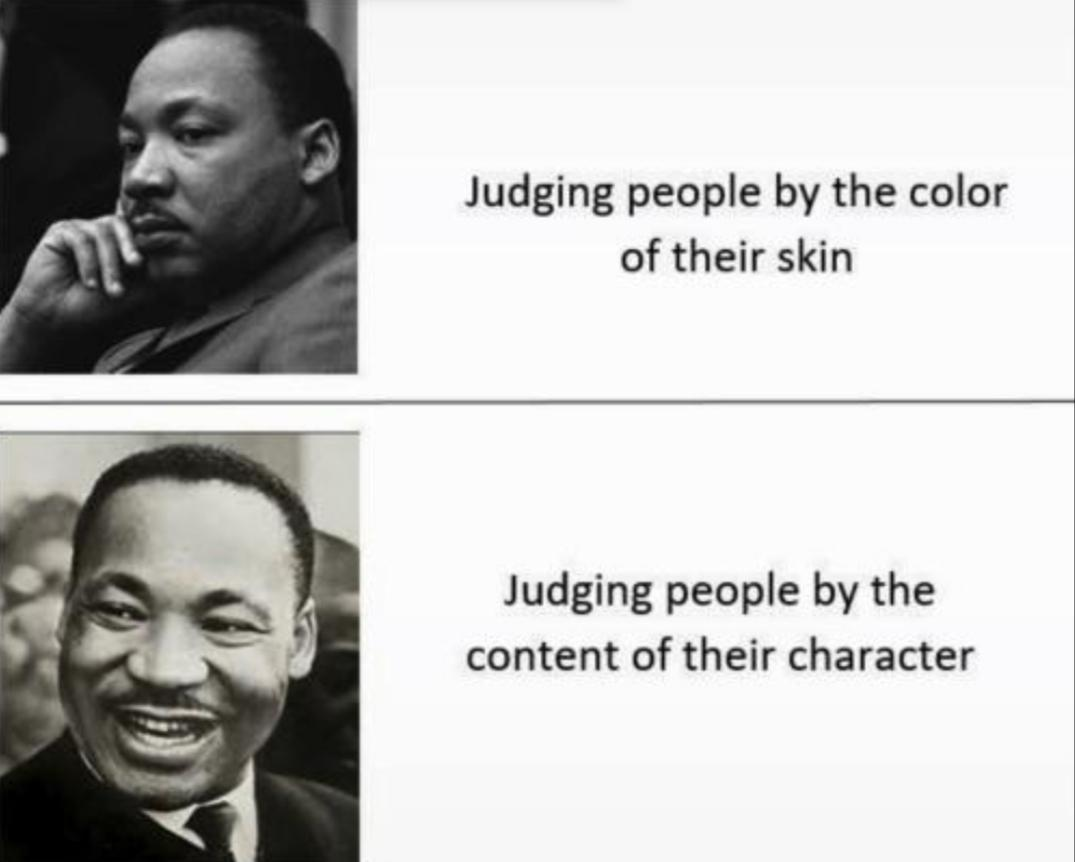 Your words ring true now more than ever Dr. King
