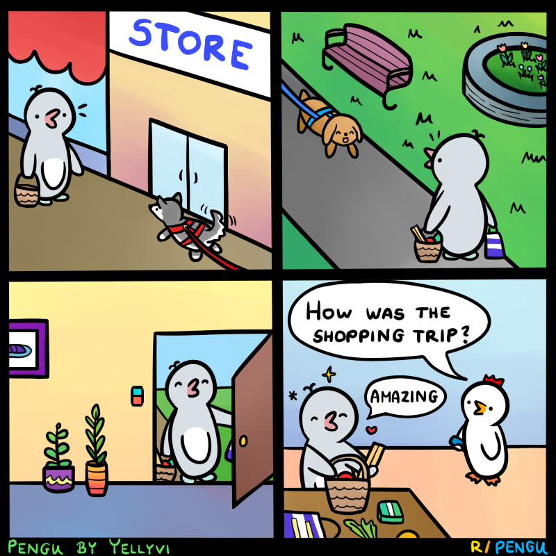 The best kind of shopping trips